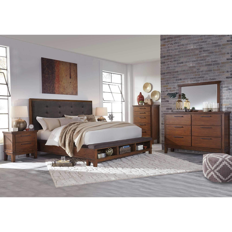Rent to Own Ashley 7-Piece Ralene Bedroom Set at Aaron's ...