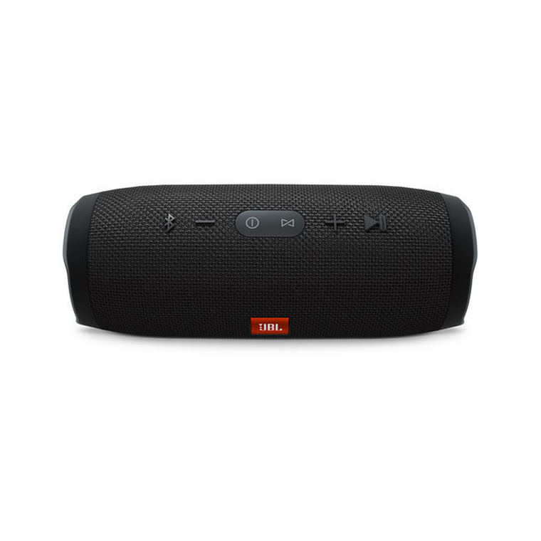 Charge 3 Portable Bluetooth Stereo Speaker (Black)
