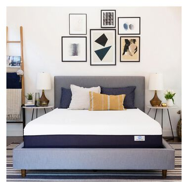 """10"""" Tight Top Firm King Gel Memory Foam Boxed Mattress with Mattress Protector"""