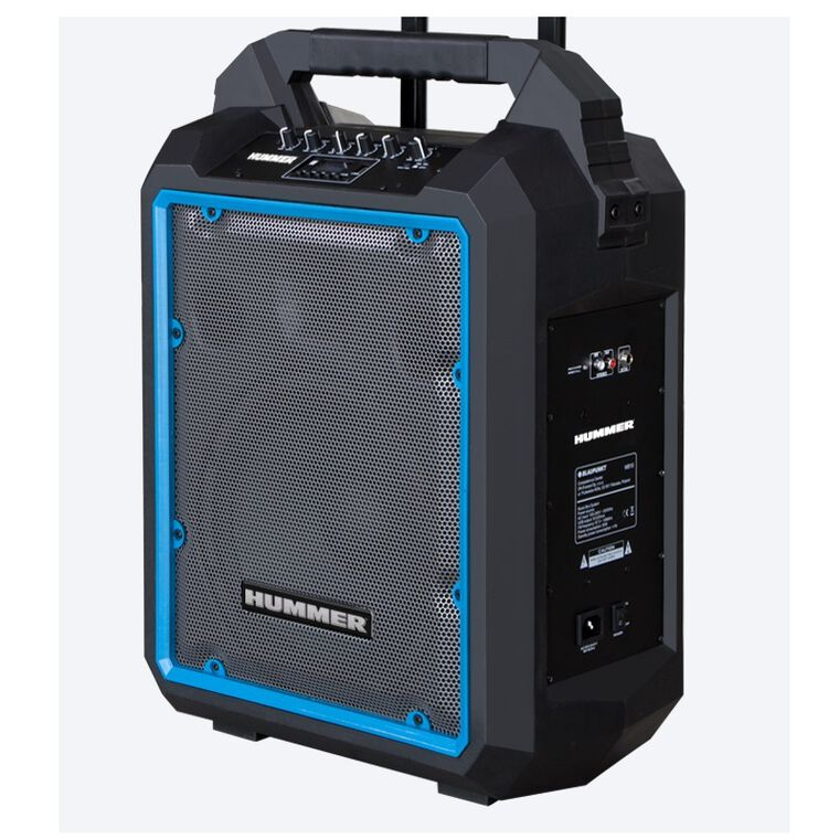 Hummer 1200W Portable Rechargeable Bluetooth Speaker