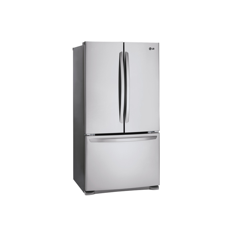 25.4 cu. ft. 3-Door French Door Refrigerator - Stainless Steel
