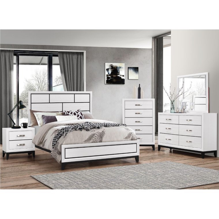 rent to own crown mark inc 7piece akerson twin bedroom at