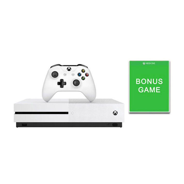 500GB Xbox One S Console with Bonus Game Bundle