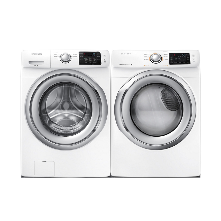 4.2 cu. ft. Front Load Washer & 7.5 cu. ft. Electric Steam Dryer | Tuggl