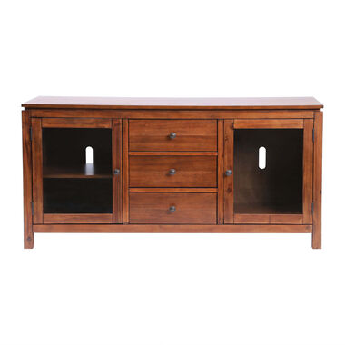 """60"""" Saugus Solid Wood Media Console"""