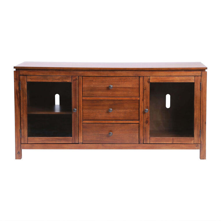 "60"" Saugus Solid Wood Media Console"