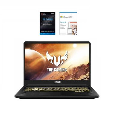 "17.3"" TUF Gaming Laptop w/ AMD Ryzen 5 CPU, Microsoft 365 Personal & Total Defense Security"