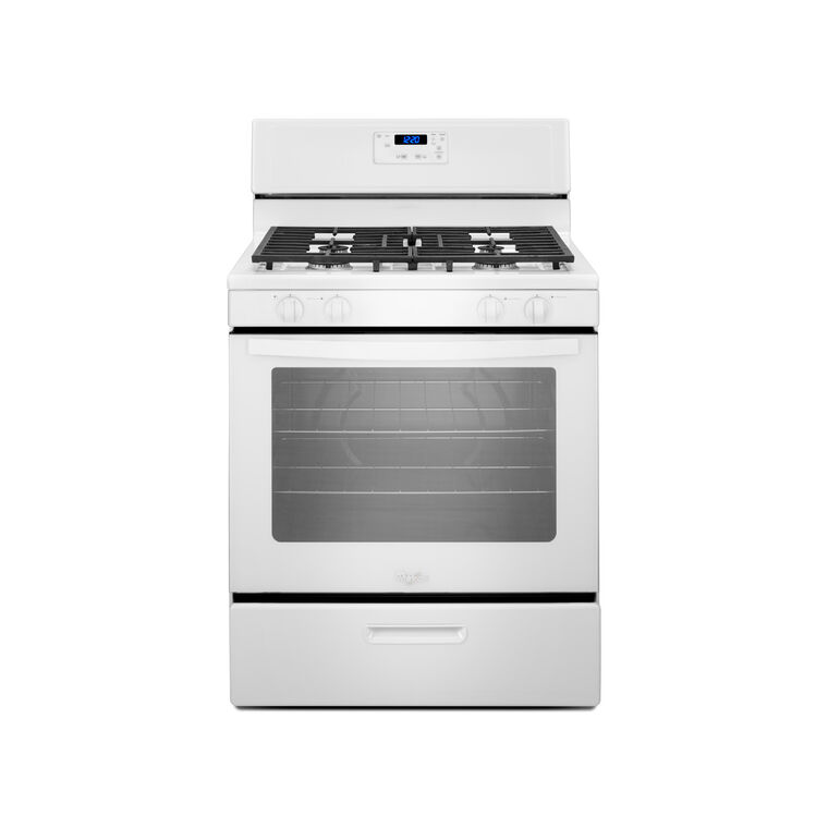 5.1 cu. ft. Gas Range - White