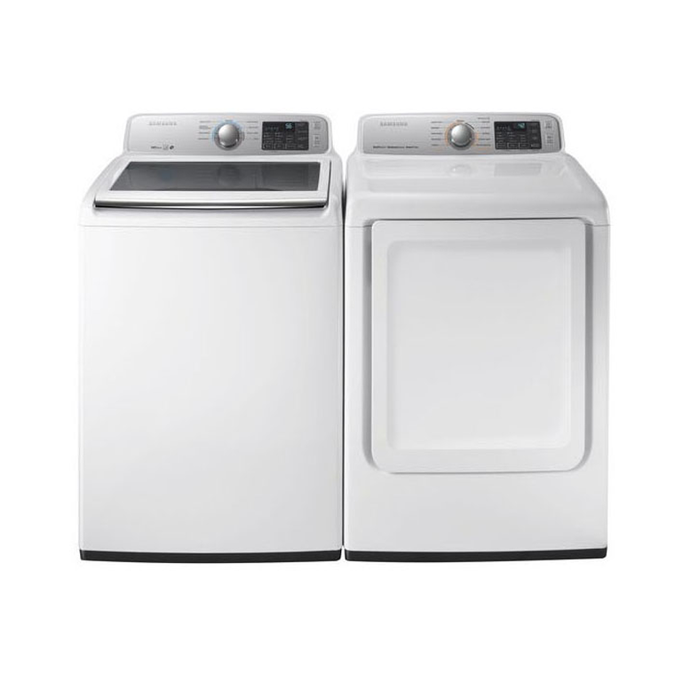 4.2 cu. ft. Top Load Washer & 7.4 cu. ft. Electric Dryer at Aaron's in Lincoln Park, MI | Tuggl