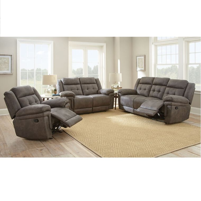 3-Piece Silverado Living Room Collection