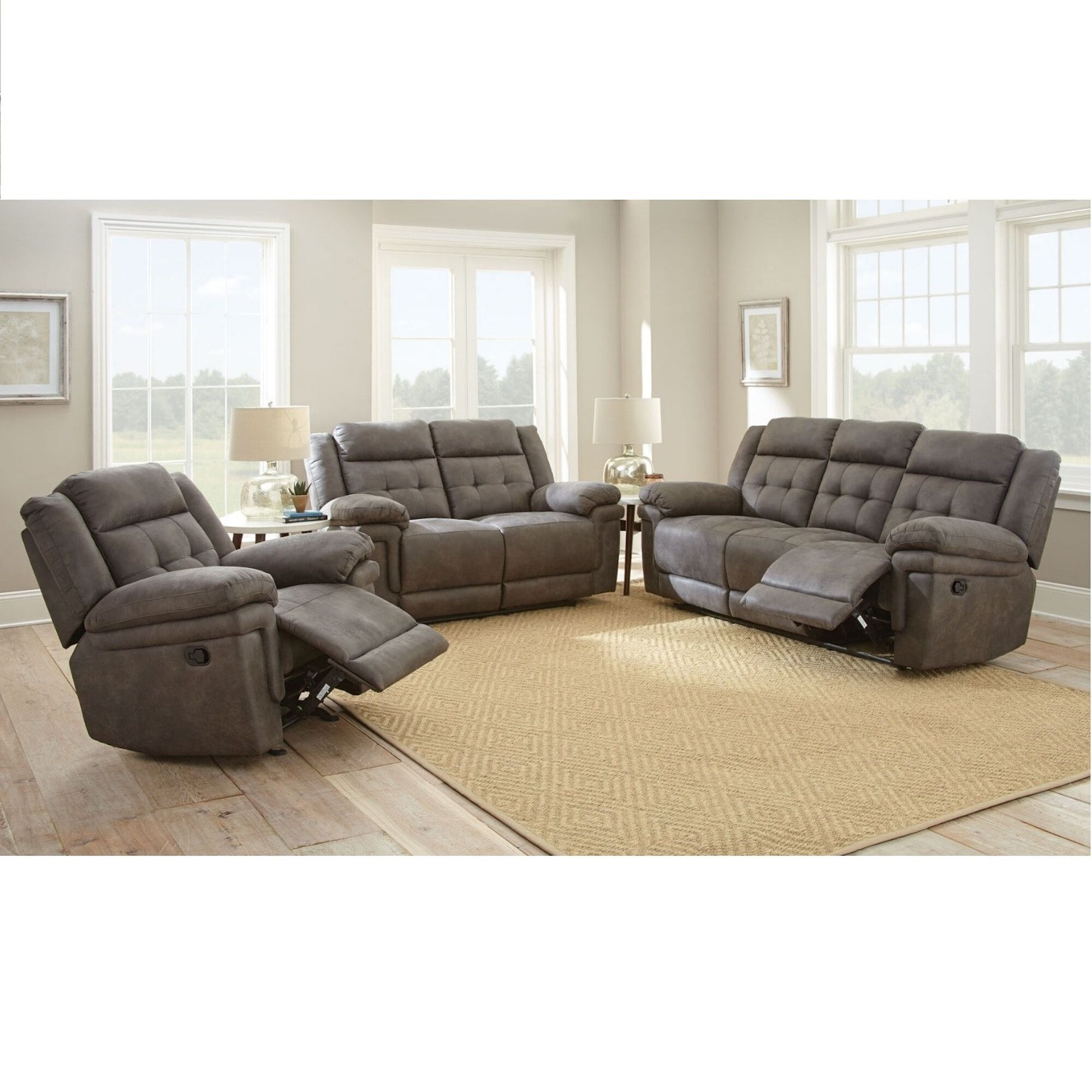 Awesome 3 Piece Silverado Living Room Collection