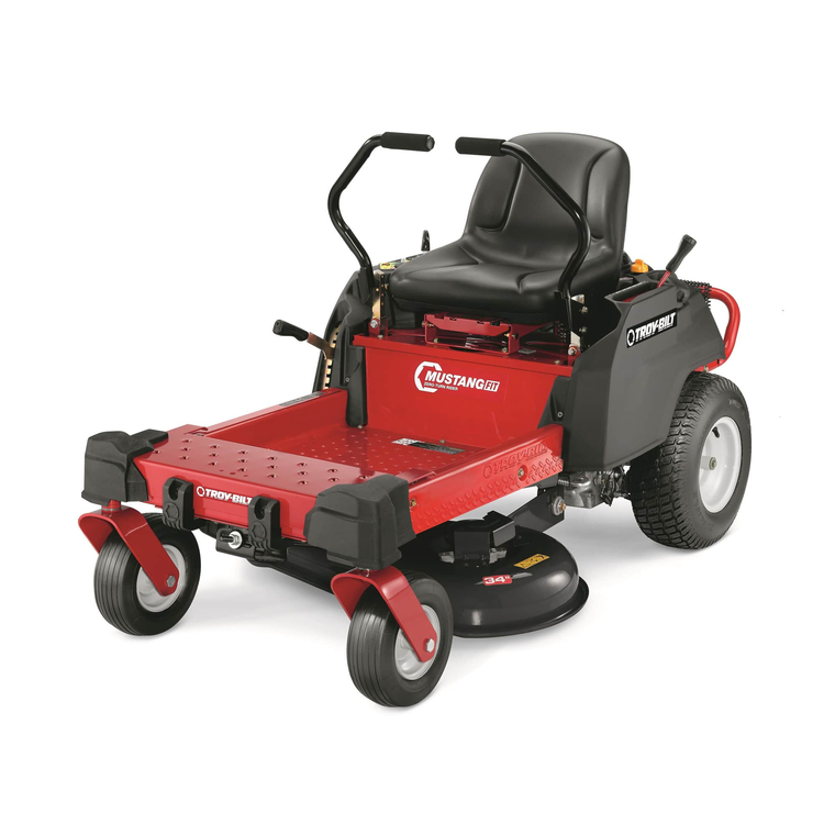 Troy Bilt Outdoor Power Mustang 34 Quot Twin Blade Zero Turn