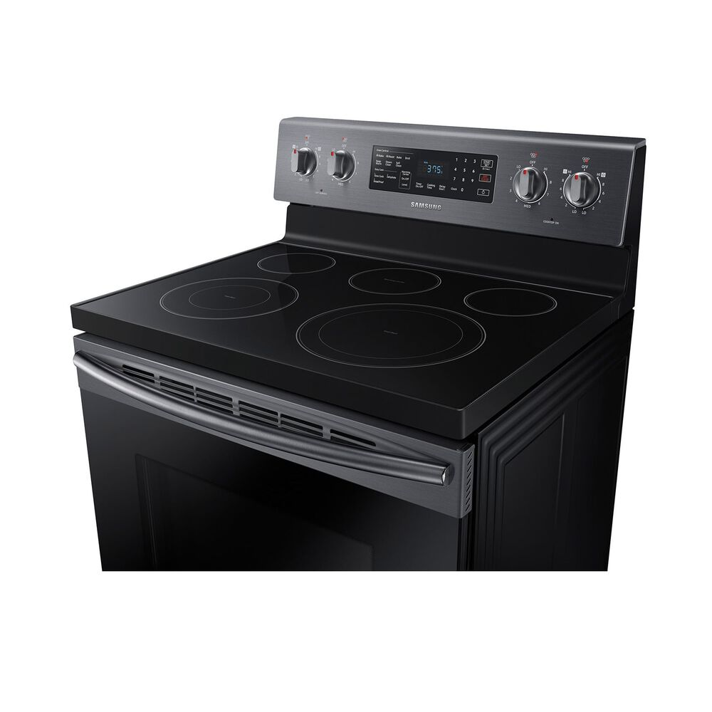 Convection Oven Ceramic Cooktop Electric Range