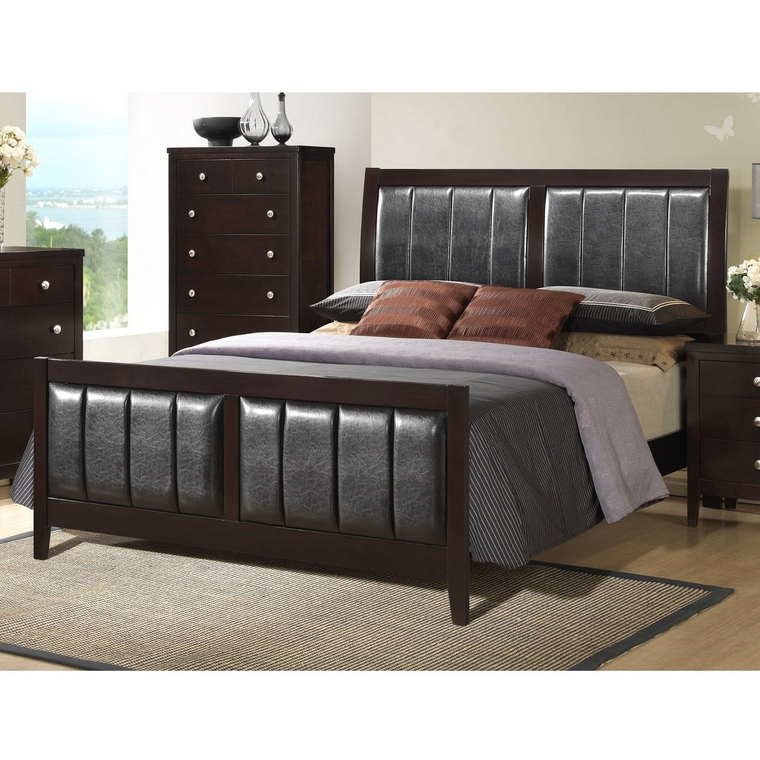 11-Piece Lawrence Queen Bedroom Collection With Tight Top Mattress
