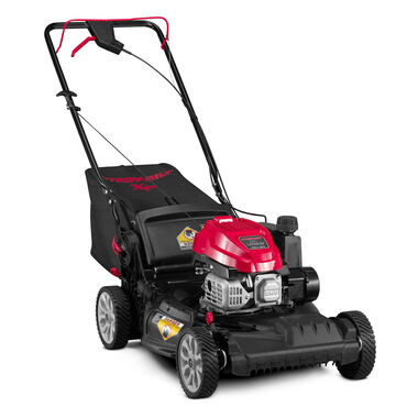 "21"" Self Propelled Front Wheel Drive Vertical Storage Push Mower"