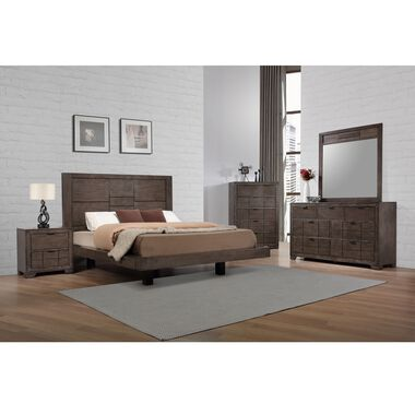 9-Piece Logic King Bedroom Collection With Pillow Top Mattress