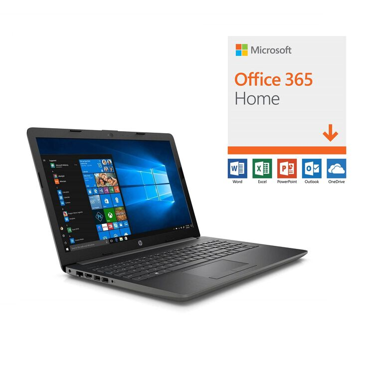 "15.6"" Laptop with Microsoft Office 365 and Total Defense Internet Security"