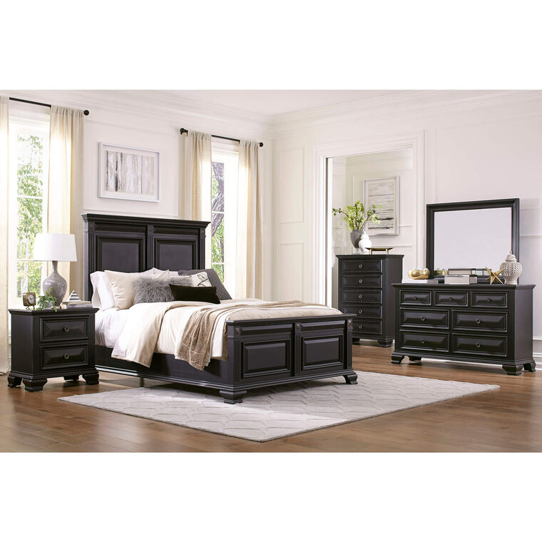 6-Piece Passages Gray Queen Bedroom Collection