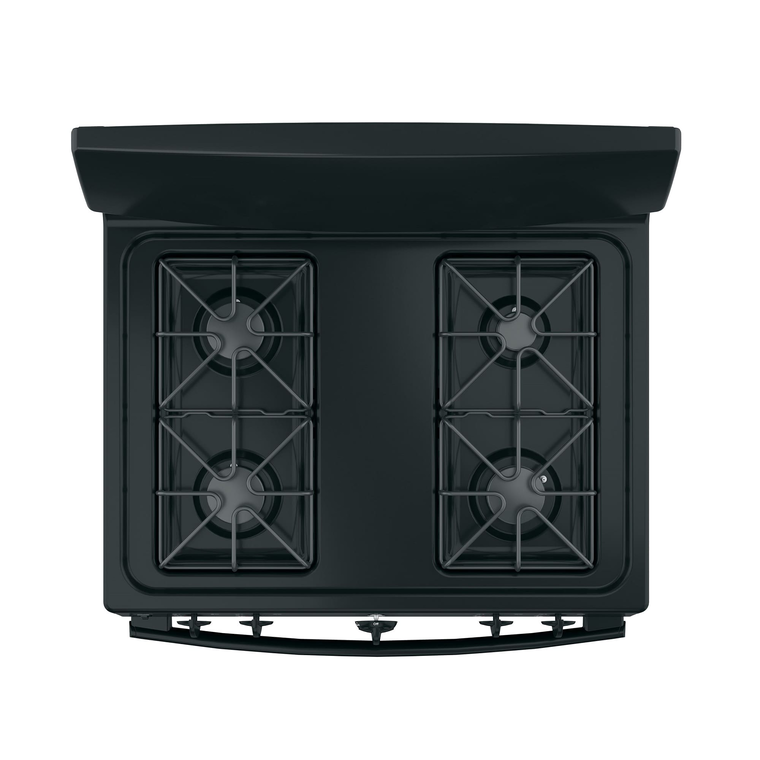 4.8 cu. ft. Front Control Gas Range - Black