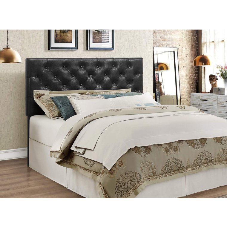 Emma Queen Bed w/ Woodhaven Tight Top Firm Mattress