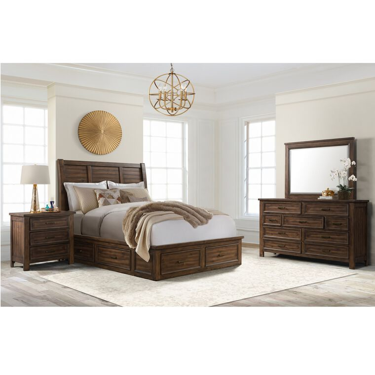 6-Piece Sullivan Queen Storage Bedroom Collection