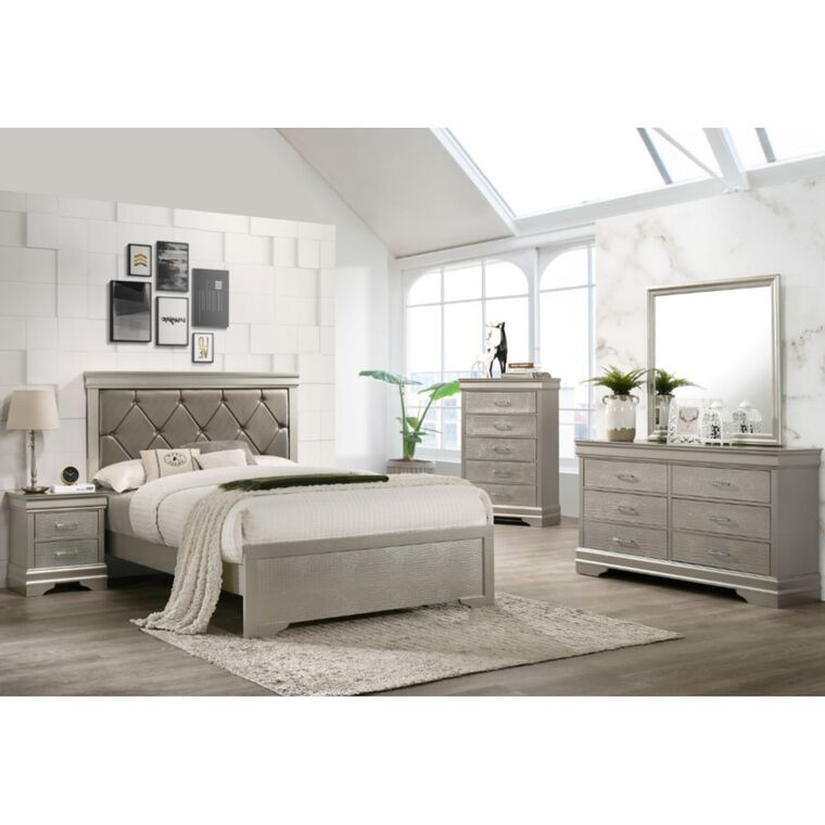 7-Piece Amalia King Bedroom