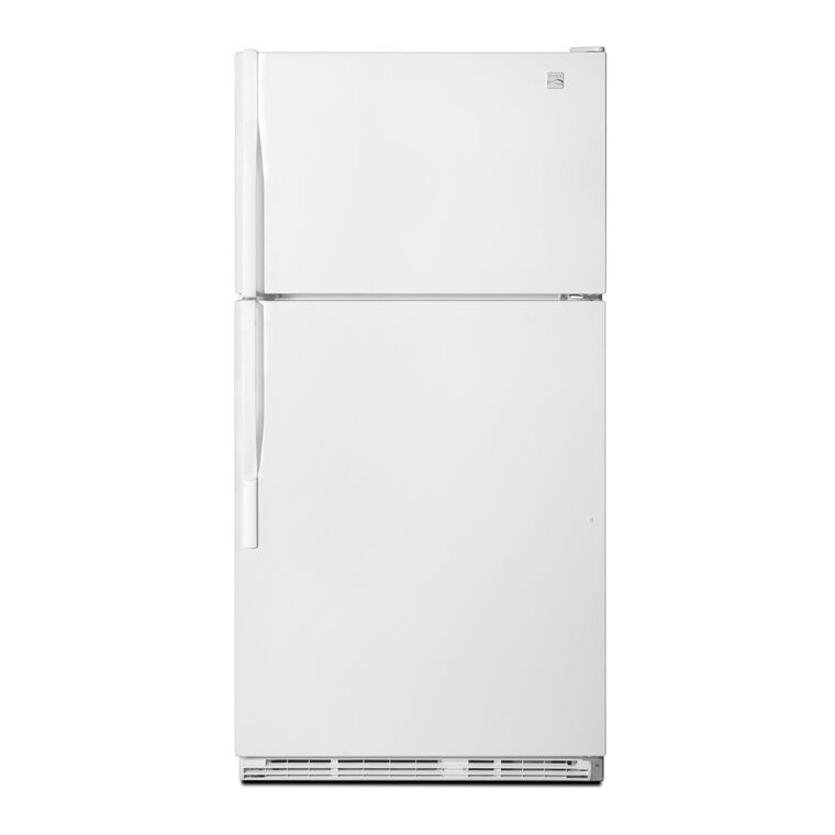 21.0 cu. ft. Top Mount Refrigerator - White