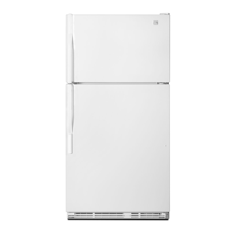 21.0 cu. ft. Top Mount Refrigerator - White | Tuggl