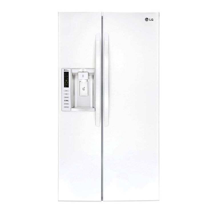 26.2 cu. ft. Side-By-Side Refrigerator - White