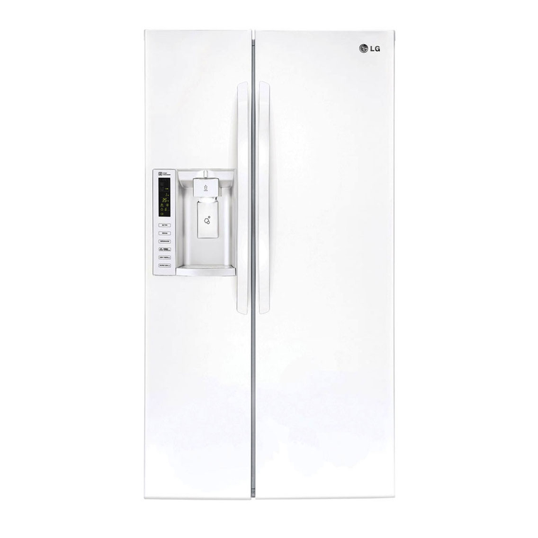 26.2 cu. ft. Side-By-Side Refrigerator - White | Tuggl