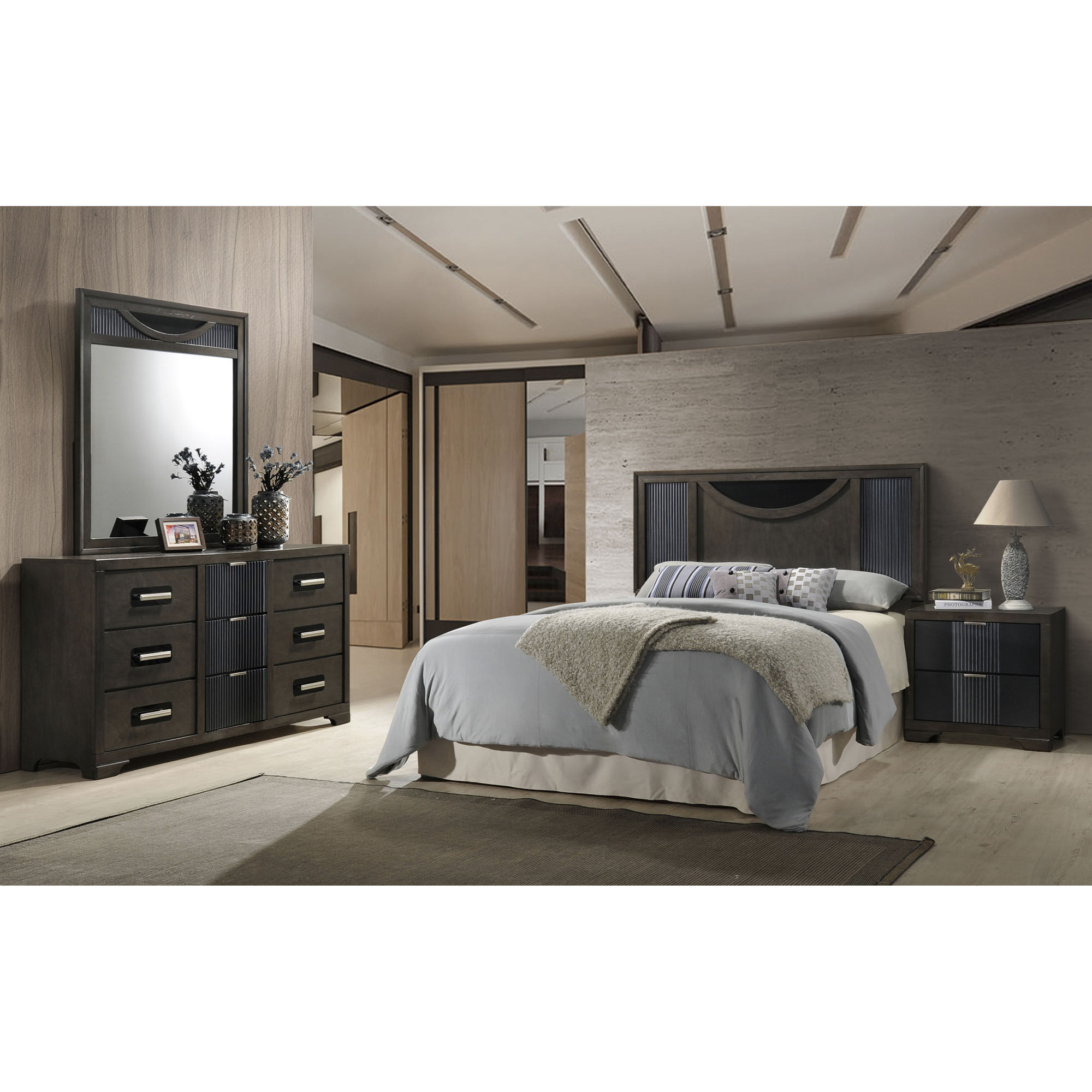 4 Piece Seneca Queen Bedroom Collection