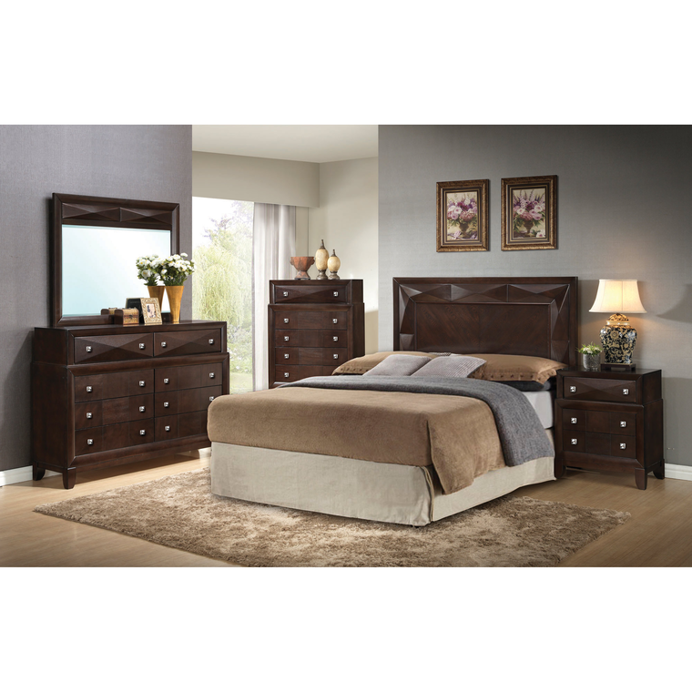 step one furniture bedroom groups 5 piece kingsbury queen bedroom collection. Black Bedroom Furniture Sets. Home Design Ideas