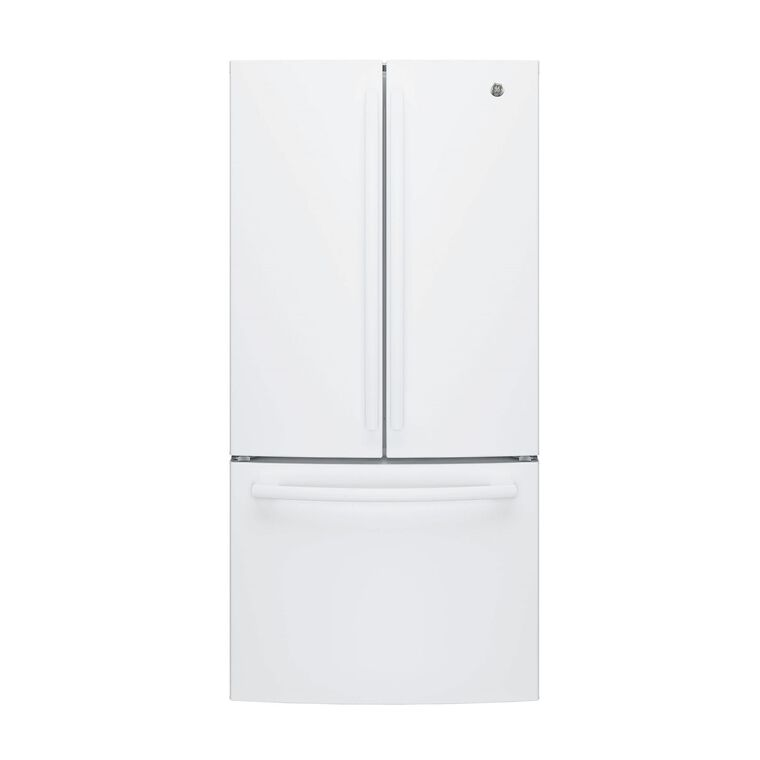 18.6 cu. ft. Energy Star Counter Depth French Door Refrigerator - White