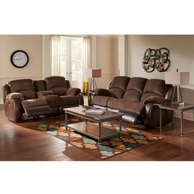 2-Piece Memphis Reclining Sofa & Loveseat