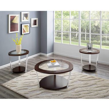 3-Piece Duncan Cocktail & End Tables Bundle