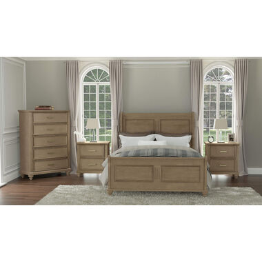 6-Piece Cameron Queen Bed with Chest & 2 Nightstands