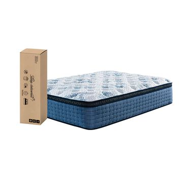 "15.5"" Euro Top Firm Full Innerspring Boxed Mattress with 9"" Foundation & Protectors"
