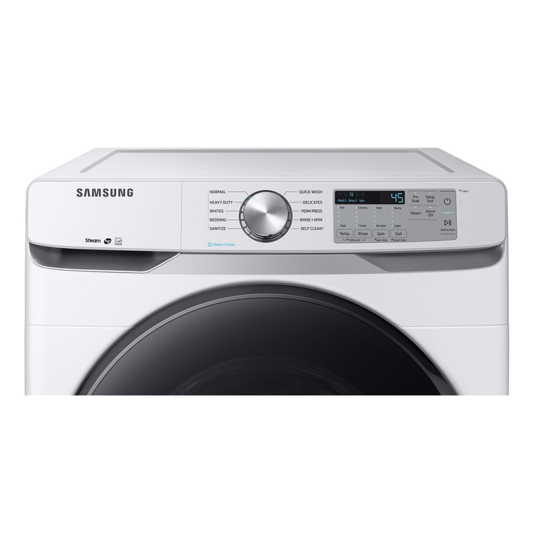 4.5 cu. ft. Energy Star Front Load Steam Washer & 7.5 cu. ft. Electric Steam Dryer