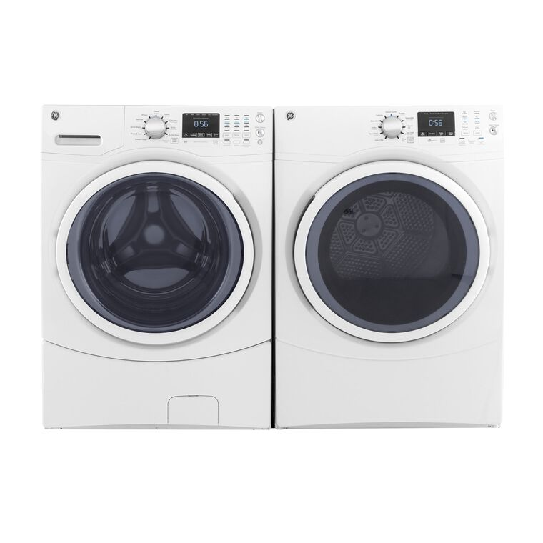 4.5 cu.ft. Front Load Energy Star Washer & 7.5 cu.ft. Gas Dryer
