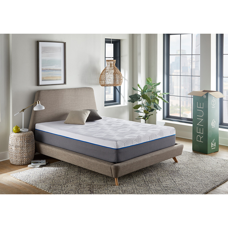 "12"" Tight Top Medium Full Gel Memory Foam Boxed Mattress"
