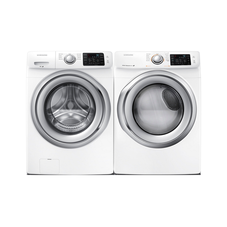 4.2cu. ft. Front Load Steam Washer & 7.5 cu. ft. Steam Gas Dryer at Aaron's in Lincoln Park, MI | Tuggl