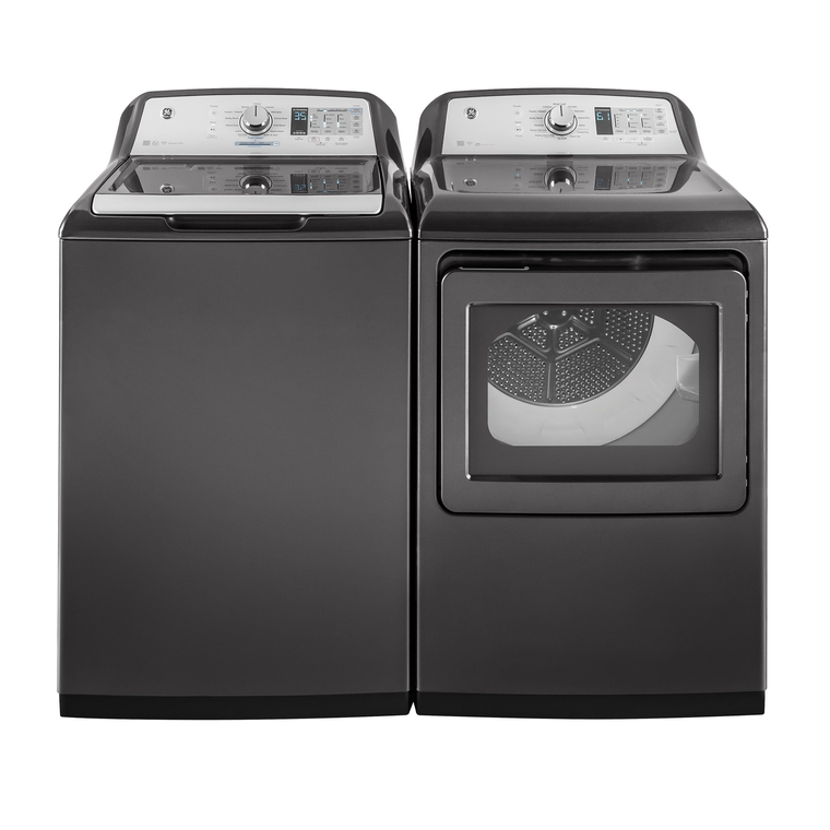 5.0 cu. ft. HE Top Load Washer &  7.4 cu. ft. Electric Steam Dryer