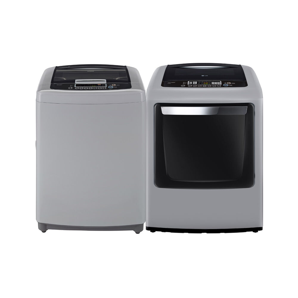 3 Cu Ft Top Load Washer 7 Electric Dryer