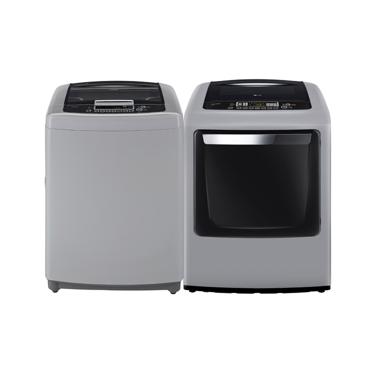 3.3 cu. ft. Top Load Washer & 7.3 cu. ft. Electric Dryer at Aaron's in Lincoln Park, MI | Tuggl