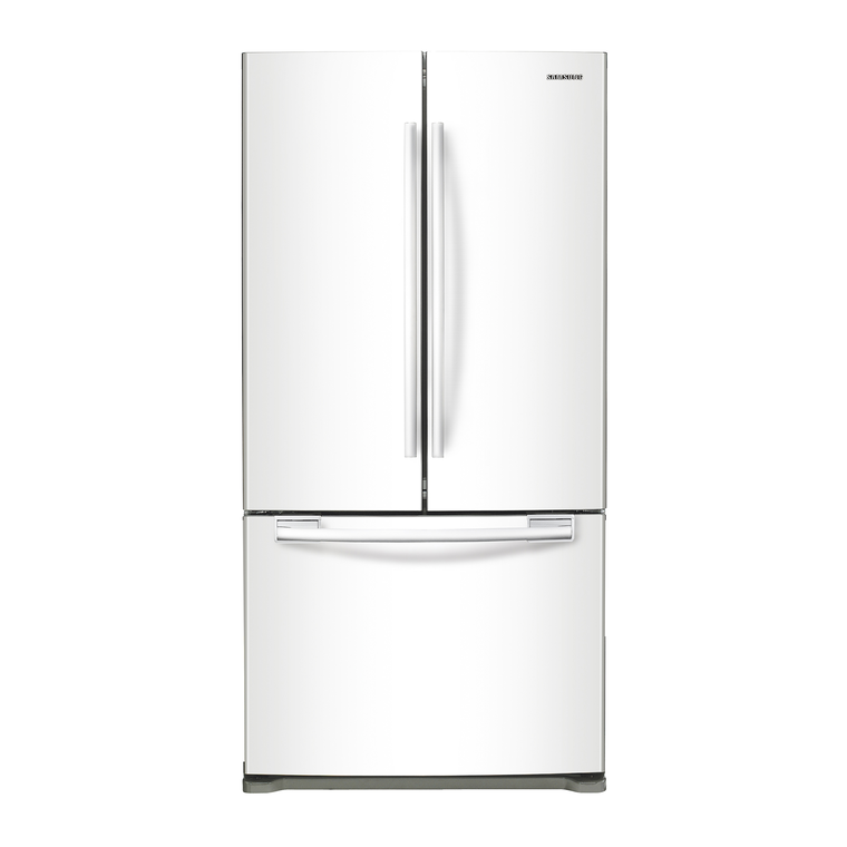 20 cu. ft. French Door Refrigerator - White