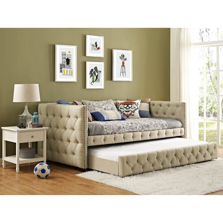 Elements Bedroom Groups Janell Daybed - Natural