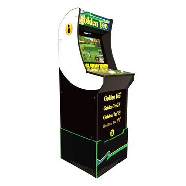 Golden Tee Arcade Game with Riser