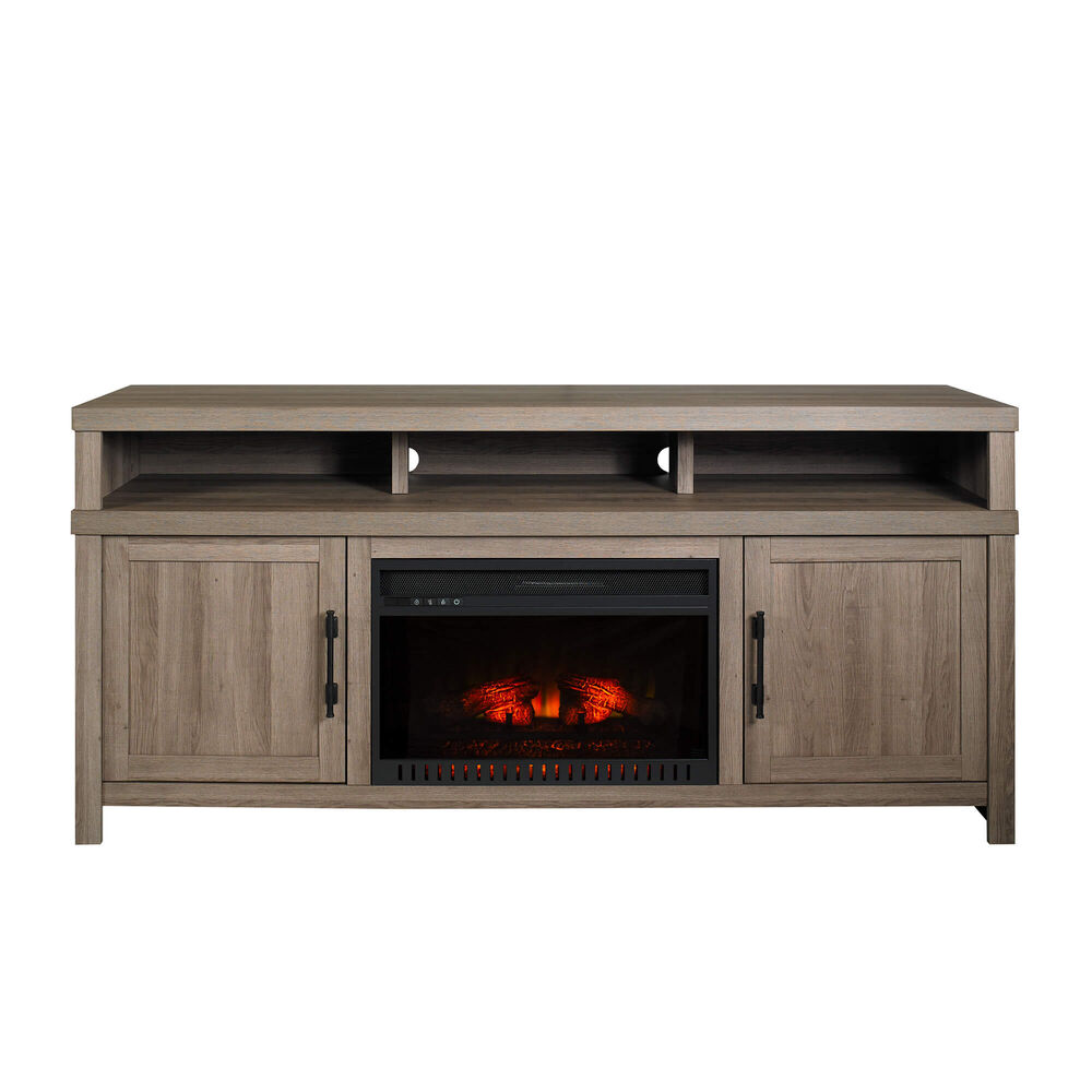 Rent To Own Whalen 72 Mystic Oak Fireplace Tv Console With 26
