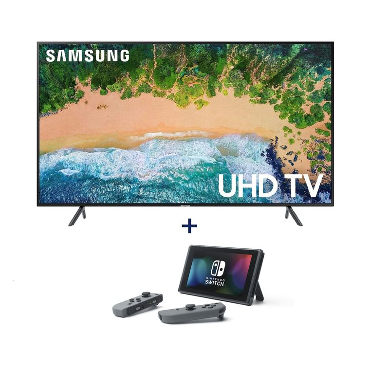 "55"" Class Smart 4K UHD TV & Nintendo Switch Bundle"