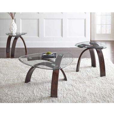 3-Piece Pitman Cocktail & End Tables Bundle